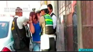Moquegua: mujer ebria arma escándalo durante detención