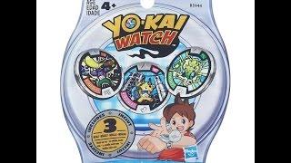 Yo Kai Watch Blind Bag Opening Surprise Legendary Medal SHOGUNYAN And QR Codes
