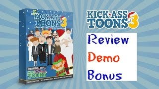 Kick Ass Toons V3 Review Demo Bonus - 150 Mind Blowing Character Animations