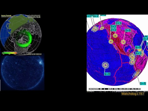 News, Earthquakes, Space Weather, Severe Storm Warnings, Tracking Santa