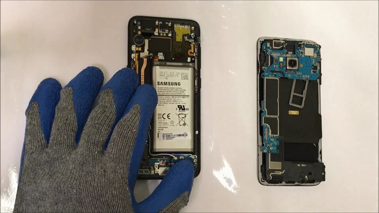 S8 Glas Samsung Galaxy S8 How To Take Apart Replace Lcd Glass Screen Replacement