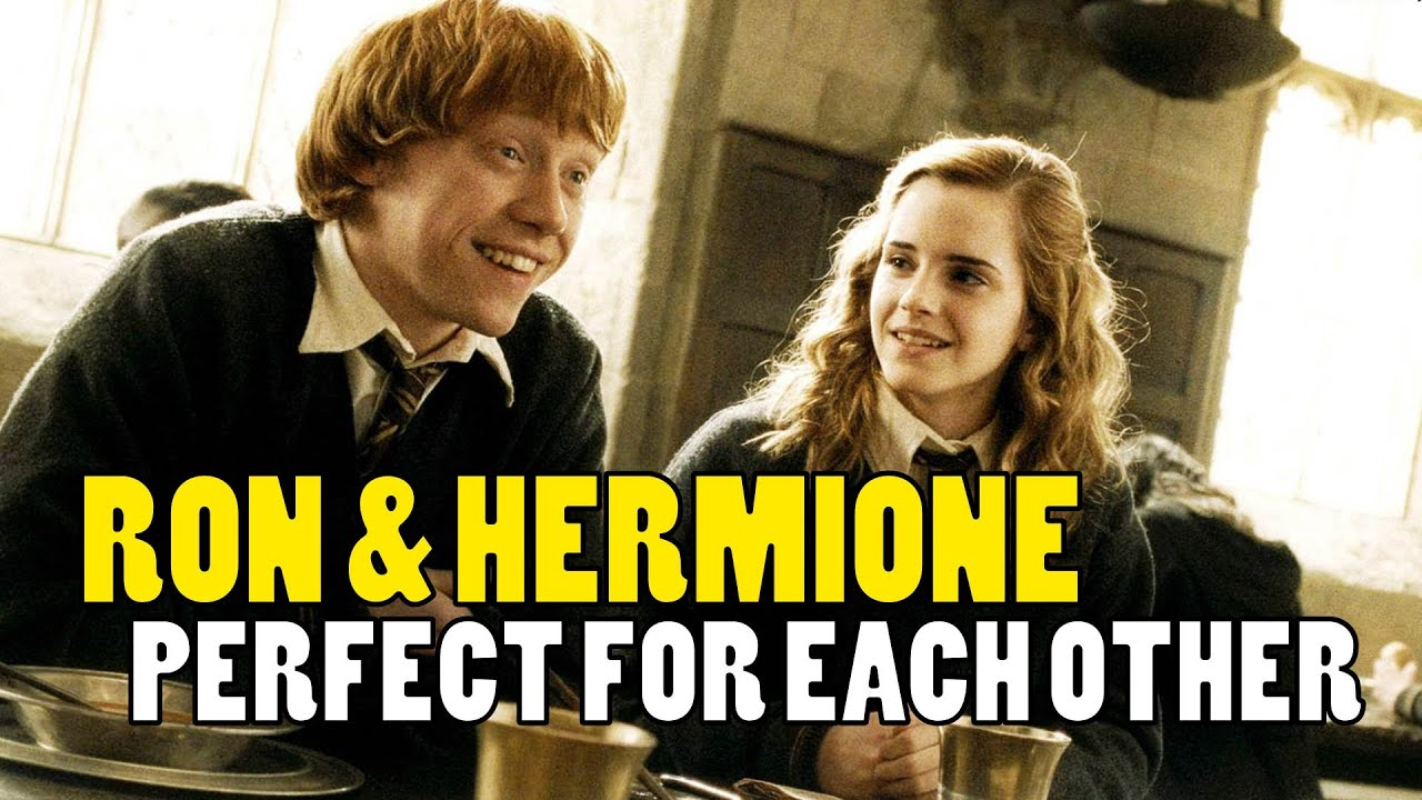 when does ron and hermione start dating