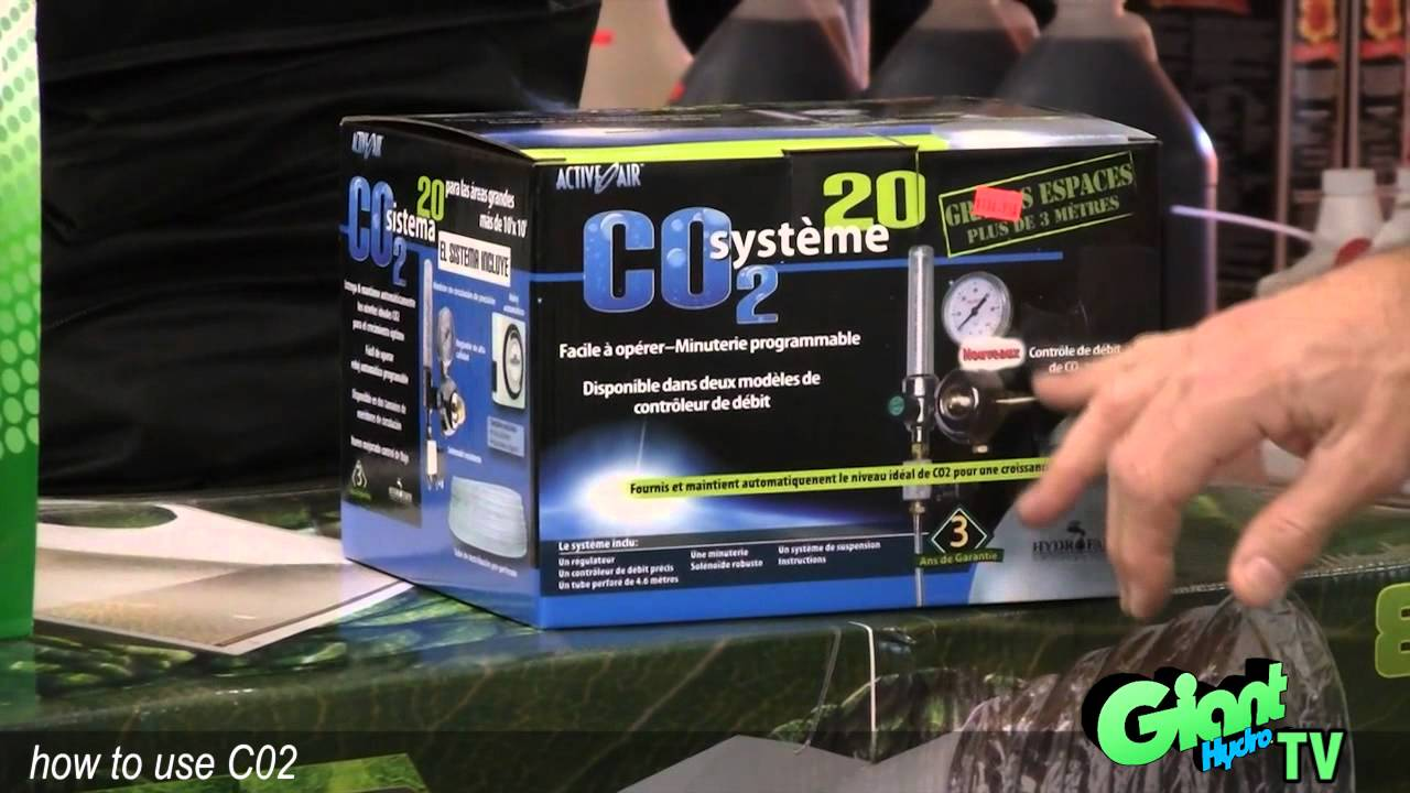 & How to use a basic C02 system in your indoor garden - YouTube
