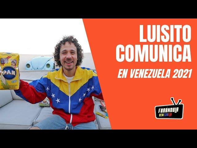 Luisito Comunica llega de visita a Venezuela 2021 😱