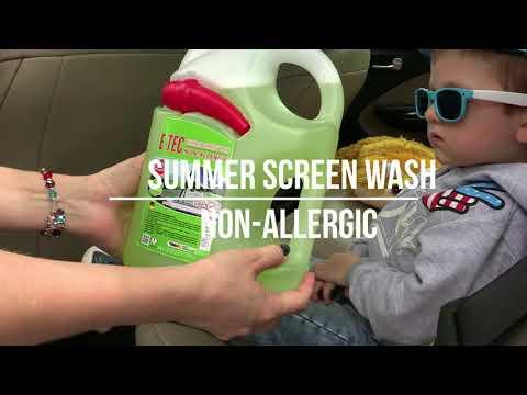 E-TEC Summer Screen wash non-allergic