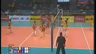 FEU Lady Tams - The GREAT BLOCK [FEU vs SSC-R Game Highlights]