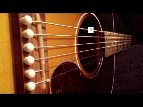 Six string guitar tuning Drop D (AUTOTUNED)
