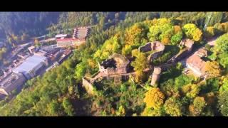 Schramberg - Burg (Luftaufnahmen//aerial photography) HD