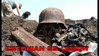 EXCAVATIONS OF GERMAN WWII POSITIONS / WW2 METAL DETECTING