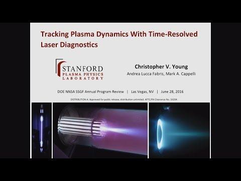 DOE NNSA SSGF 2016: Tracking Plasma Dynamics With Time-resolved Laser Diagnostics