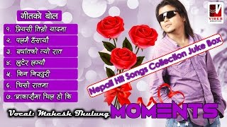 "Vibes creation present's new nepali audio jukebox album ""moments"" by mahesh thulung. singer: thulung composers: (1 to 6) bhuwan thulung..."