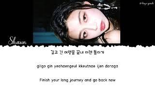 ENG ESP JPN VIE SHAUN Way Back Home Lyrics가사 Color Coded Han Rom En
