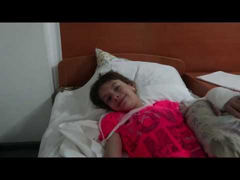 VLOG У Даши сложный перелом, Ночуем в больнице