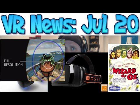 VR News: Jul 20 Nvidia SMI - Open Source VR! - Sony VR Cinema Details