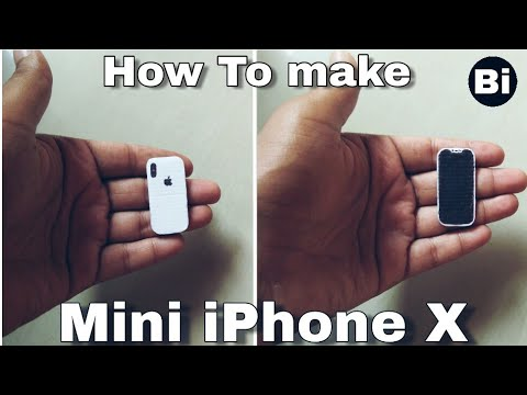 How To Make? Mini iPhone X? Bi