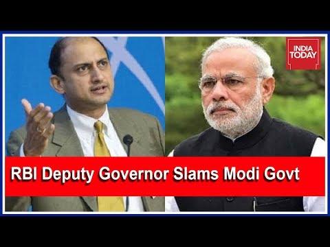 RBI Deputy Governor Slams Modi Govt; Warns Govt Against Curbing Central Bank's Independence