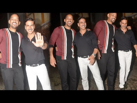 Will Smith Parties Hard With Akshay Kumar And Other B-town Actors In Mumbai!