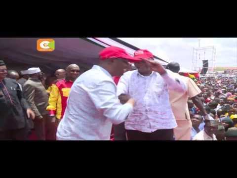 Rais Uhuru Kenyatta apeleka kampeni Wajir
