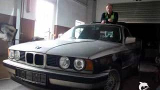 Frank Lehmann BMW E34 Umbau Pick-up