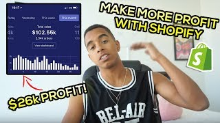 EASILY INCREASE YOUR SHOPIFY PROFIT MARGINS (Dropshipping Tutorial 2018)
