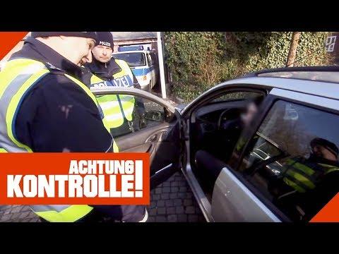'Ich hab vor 24 Stunden gekifft!' Polizei zieht Mann aus dem Verkehr! | Achtung Kontrolle