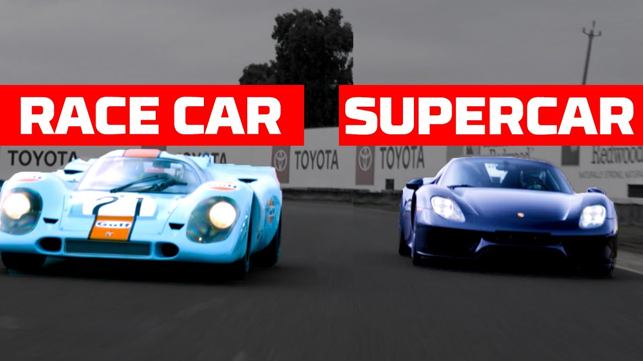 Race Car Meets Supercar: Porsche 917 vs Porsche 918 Spyder | MotorTrend
