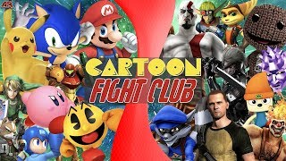 Super Smash Bros VS PlayStation All-Stars (Nintendo VS Sony) | CARTOON FIGHT CLUB