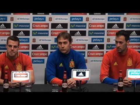 Julen Lopetegui, Sergio Busquets & Cesar Azpilicueta Full Pre-Match Presser Ahead Of England v Spain