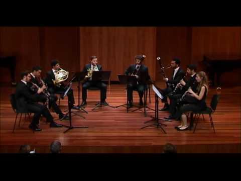 S.Prokofiev. Romeo and Juliet. Suite for Wind Octet. GRUPO HARMONIE.