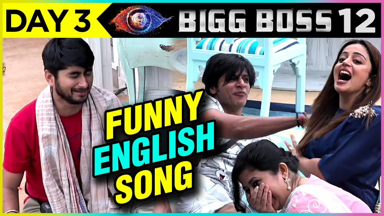 Deepak Composes NEW ENGLISH Song In BB House   FUNNY VIDEO   Bigg Boss 12 Episode 3 Update