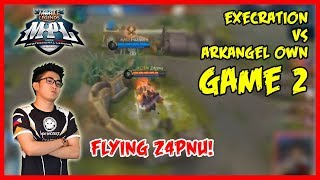 One Punch Aldous by Z4pnu! | Execration vs ArkAngel Own MPL-PH Season2 Game2