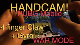 Download Handcam 4 Finger Claw Gyro Pubg Mobile Ironlee War Mode
