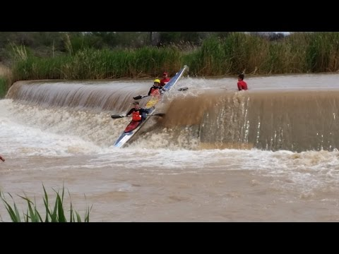 Fish River Canoe Marathon 2016 K2 | All Major Rapids, Weirs And Chutes