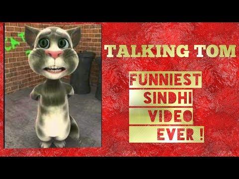 talking tom funniest sindhi video