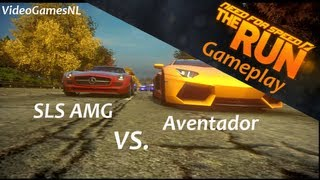Need For Speed: The Run | Aventador vs. SLS AMG - Entering New York Gameplay [PS3] [HD]
