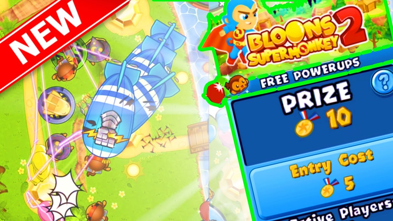 Bloons TD Battles NEW MAP