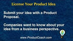 Licensing Your Idea - What companies want