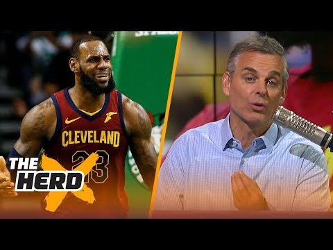 Colin Cowherd reacts to LeBron's Game 1 performance vs Boston  NBA  THE HERD