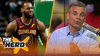 Colin Cowherd reacts to LeBron's Game 1 performance vs Boston | NBA | THE HERD