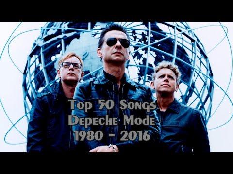 Top 50 Songs Depeche Mode 1980 - 2016