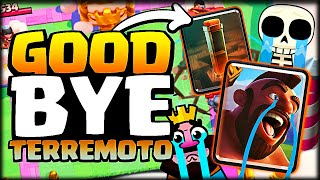DESPIDIENDO EL TERREMOTO EN EL ULTIMO DIA DE SEASON DE CLASH ROYALE - WithZack