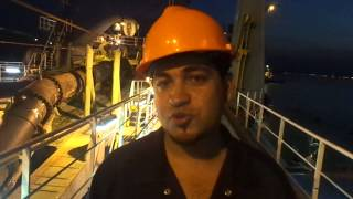 Egyptian sailor on intimidation Emirati port interrupt his vacation to participate in the work