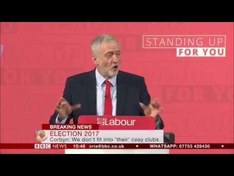 Jeremy Corbyn makes his first major #GeneralElection speech
