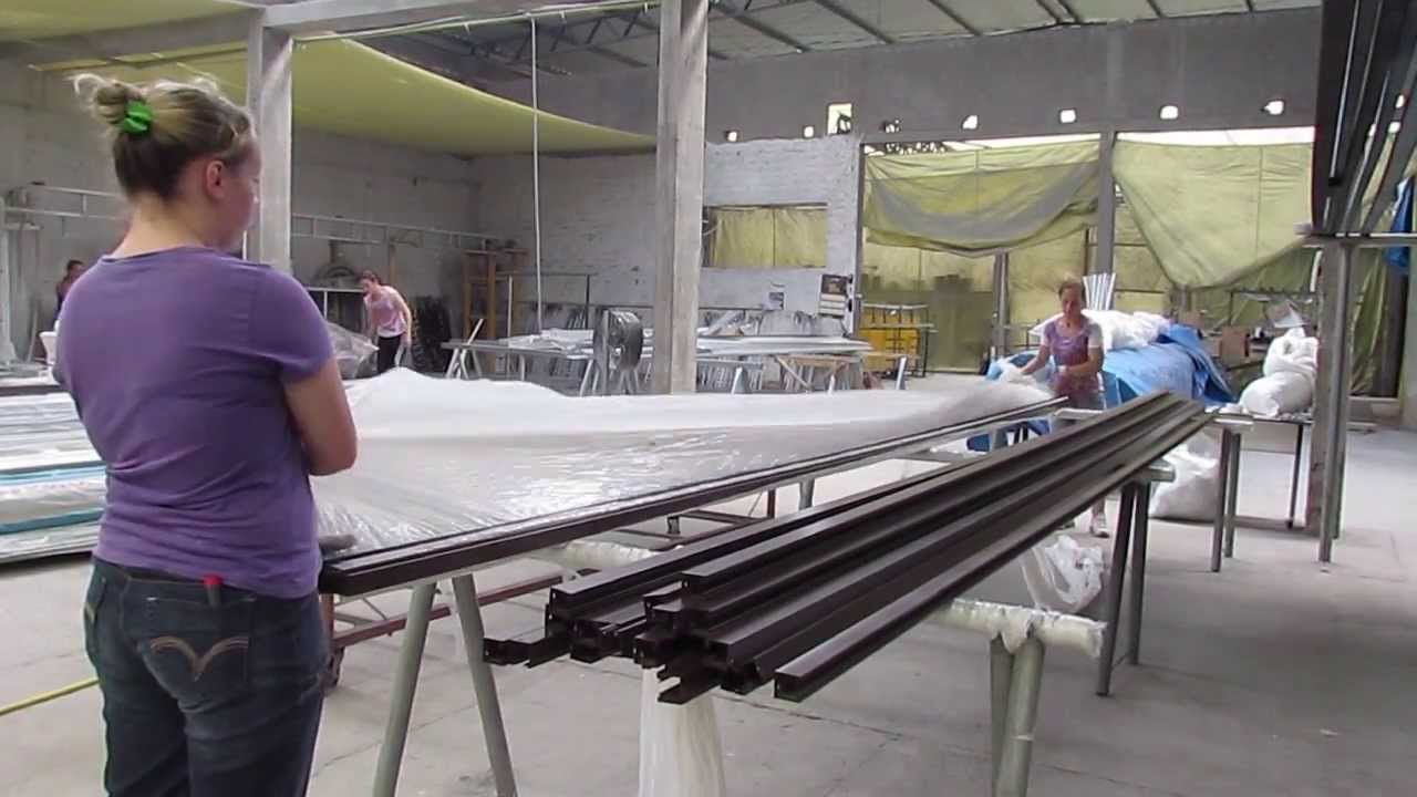 Pintura eletrost tica youtube - Pintura de aluminio ...