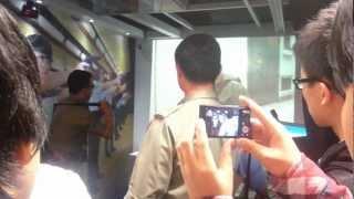 香港警察學院槍械訓練科武器示範