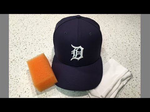Cleaning Baseball Caps Part 1 - Routine Maintenance