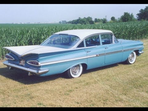 1959 Chevrolet STYLING EXPLAINED, Impala in Crown Sapphire