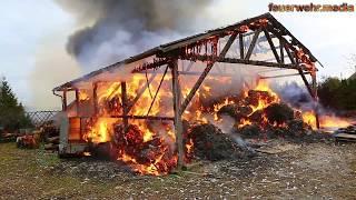 Großbrand im Ortszentrum von Großreinprechts