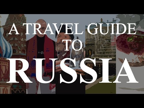 A Hindi Travel Guide to Russia (Moscow & Saint Petersburg)