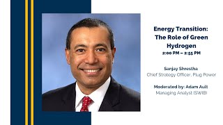 Energy Transition: The Role of Green Hydrogen with Sanjay Shrestha
